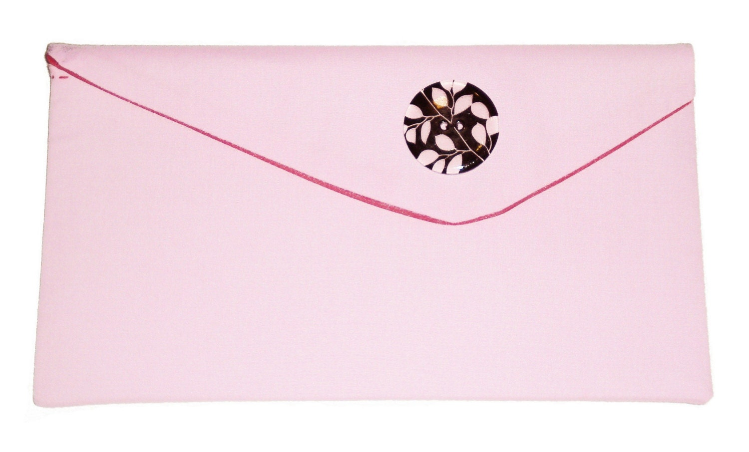 elegant pink and brown evening clutch