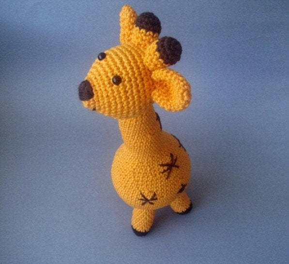 Amigurumi Cotton Giraffe