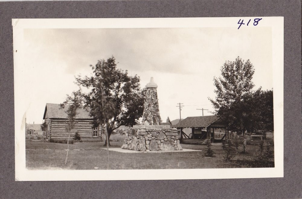 Vintage Black and White Photograph Scenic View 1930s vp030