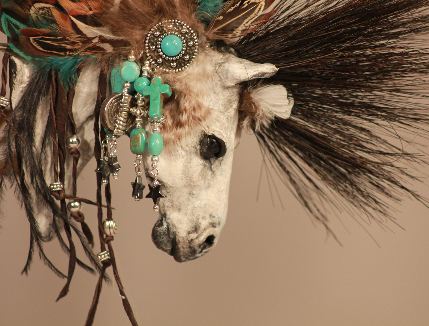 Native American Feather Hair Ornament « Native American Jewelry Tips