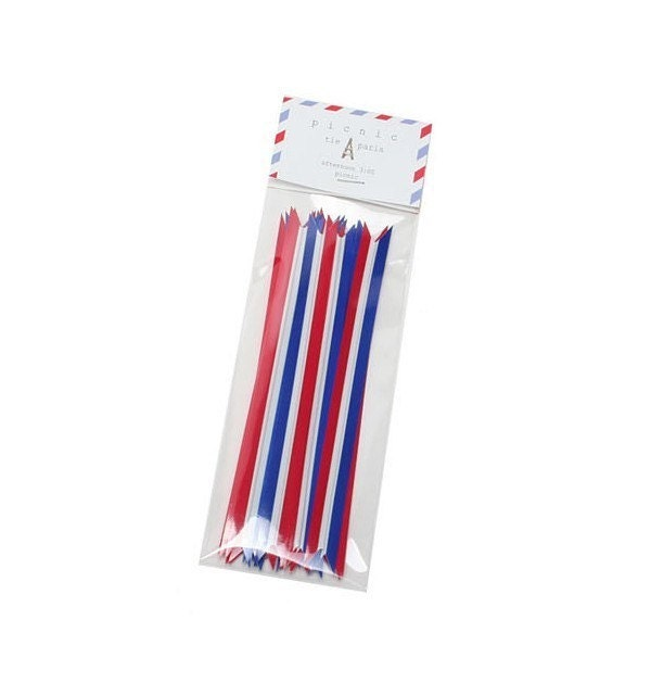 Twist Ties - Paris (set of 20)
