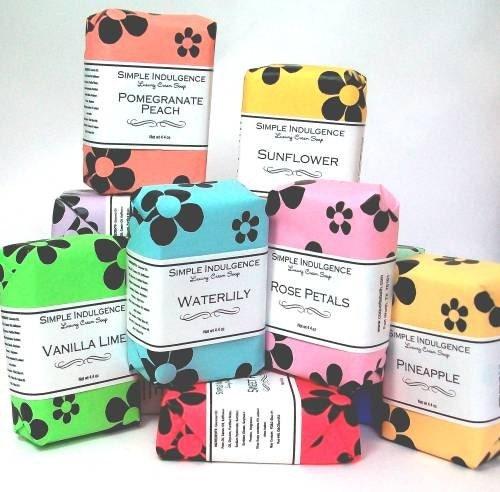 Vanilla Lime Soap, Shea Enriched, Simple Indulgence, Handmade Soap