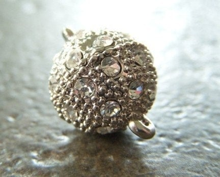 Clasp Magnetic Stardust Rhinestone 12mm