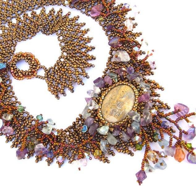 Glacier Flourite necklace