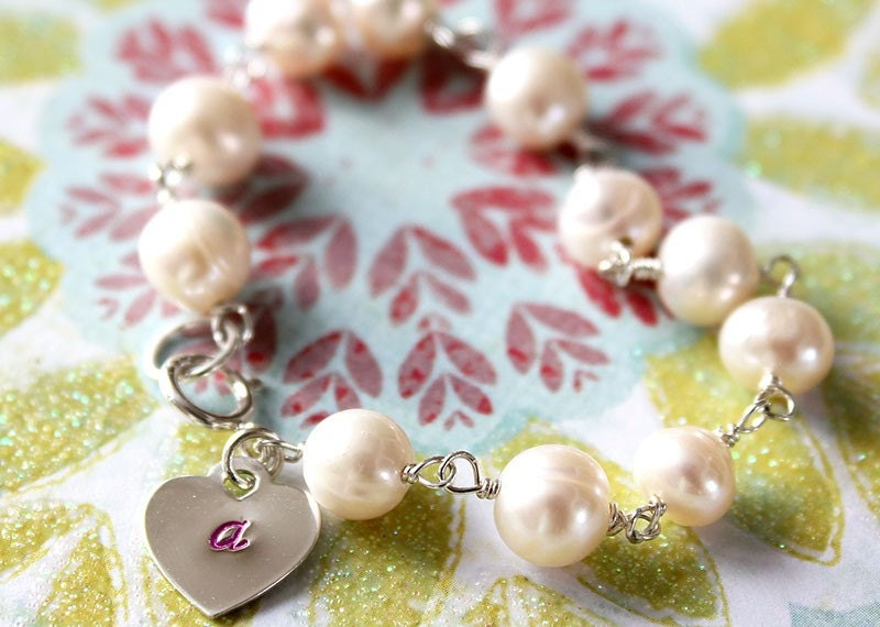 Infant and Toddler pearl Bracelet
