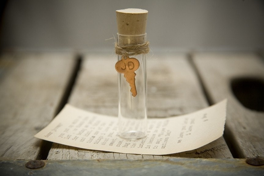 message in a bottle letter service