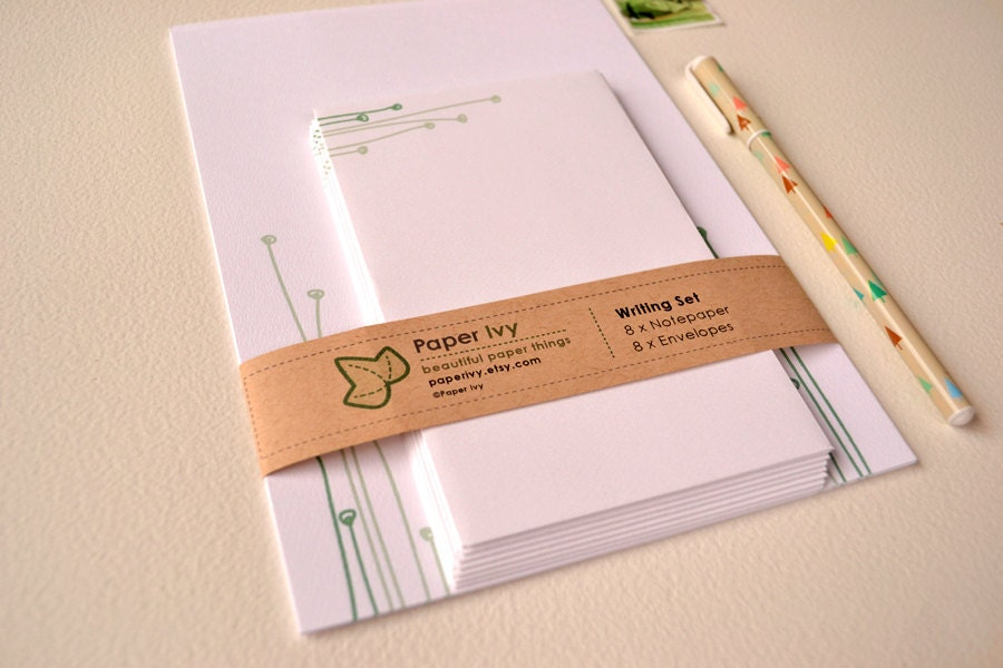 Stationery Writing Set - Sprout
