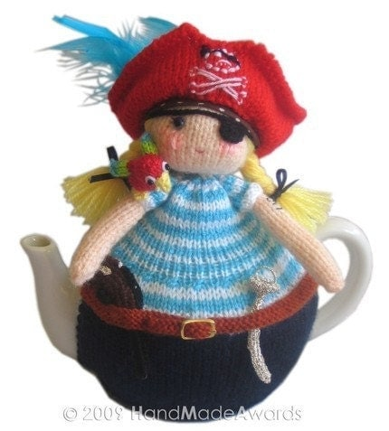 PIRATE TEA COSY Pdf Email CROCHET PATTERN