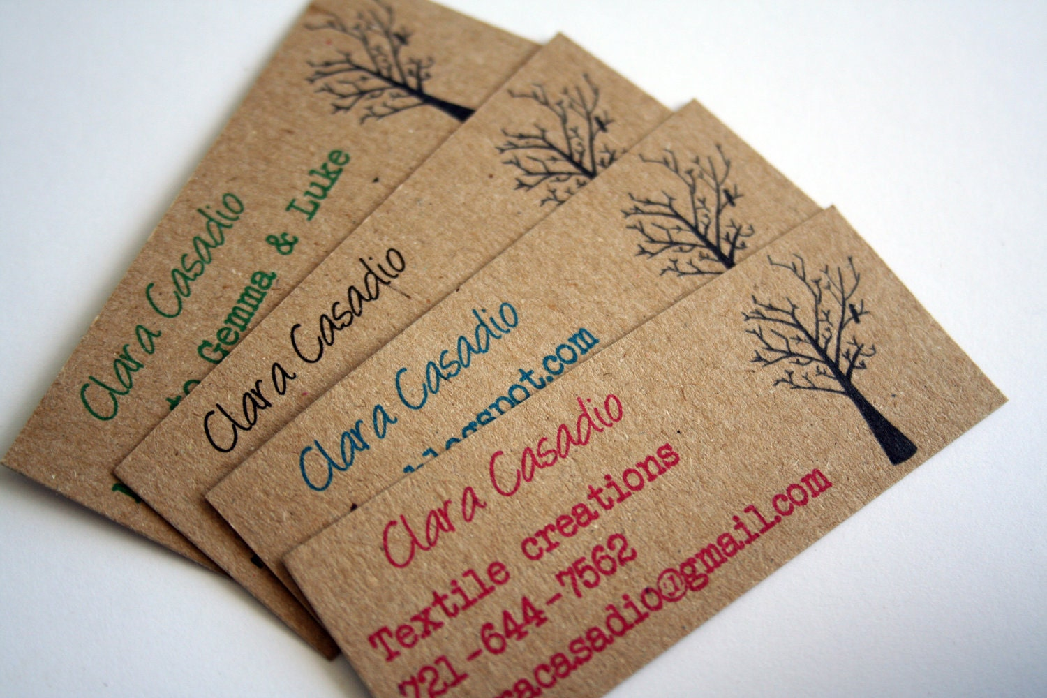 Recycled business cards magicingreecefo Choice Image