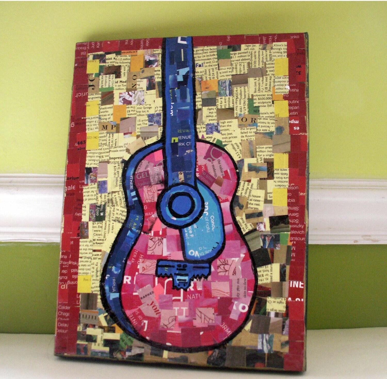 Детские игры на гитаре - Смешанные Коллаж СМИ