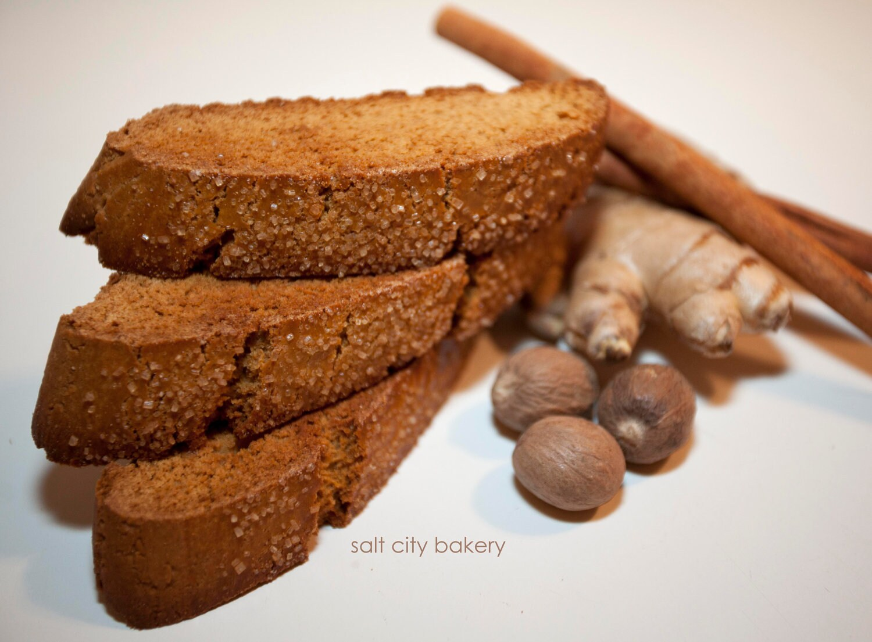 Organic Gingerbread Biscotti