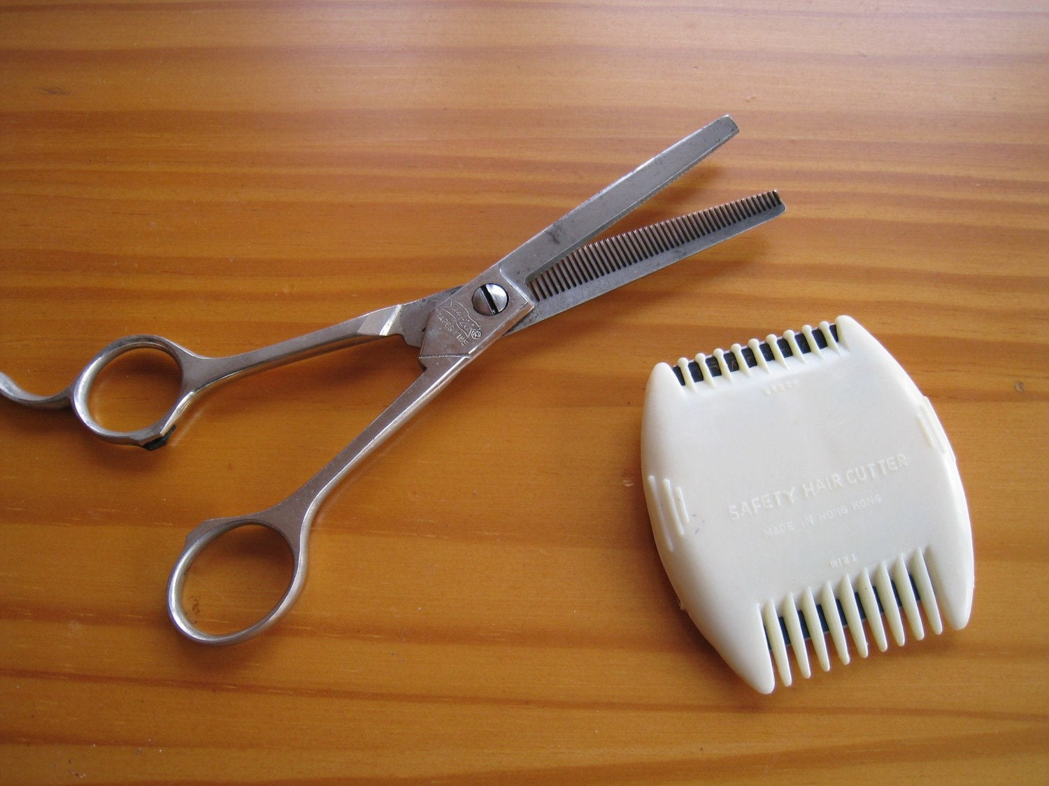 Vintage Hair Trimming Scissors and Cutters by ...