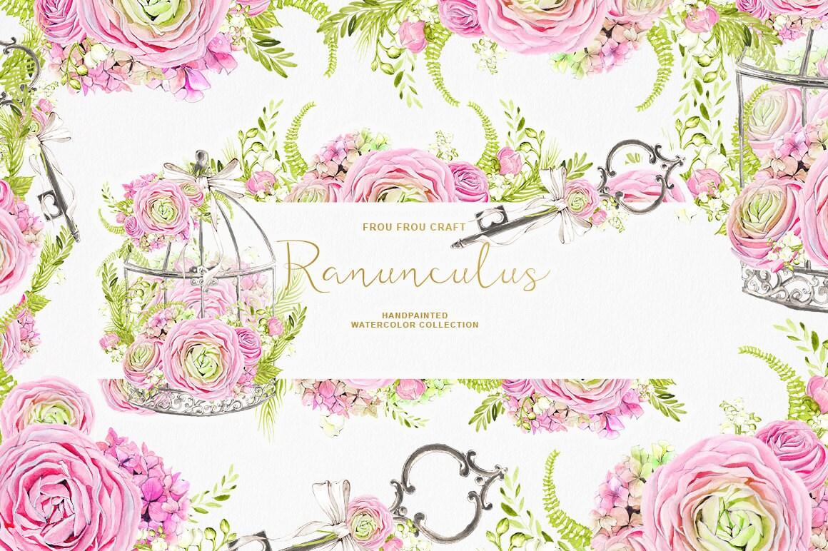 Diy flower clip wedding