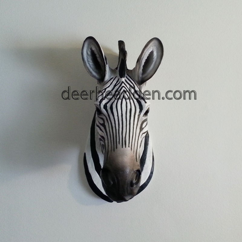 Zebra Head Wall Decor : Unavailable listing on etsy