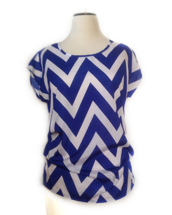 New Dylan Chevron Blouse - Tab Long Sleeve (For Women) - Save 50%