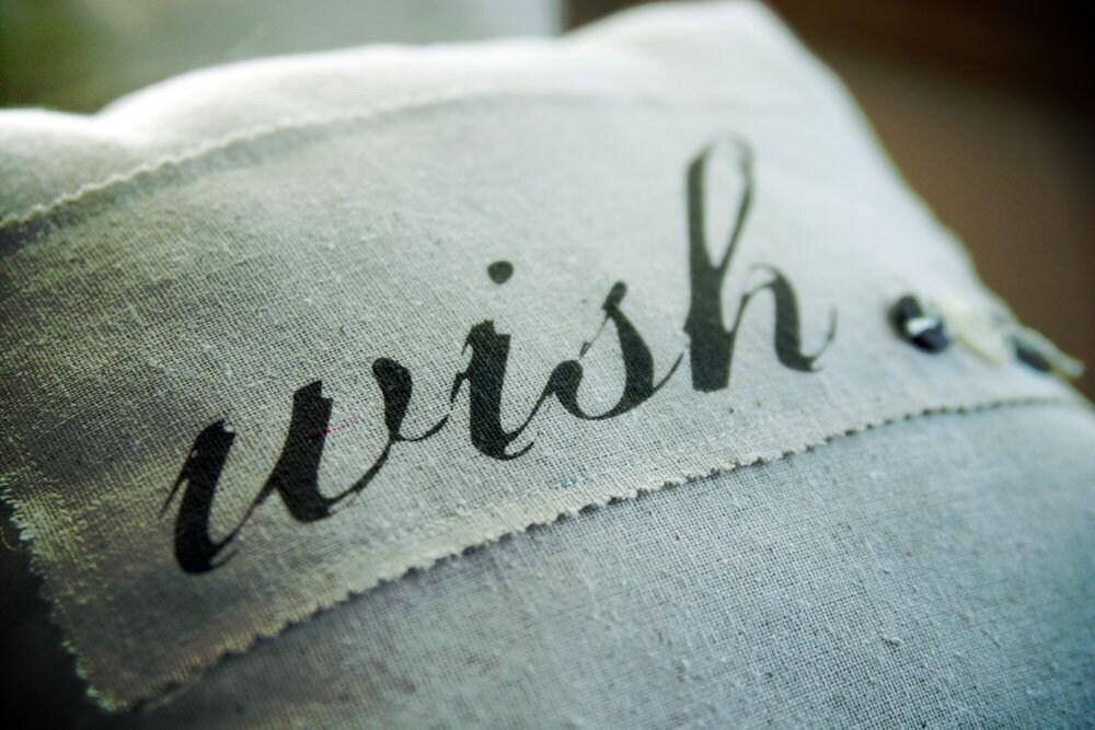WISH Raw Cotton Pillow