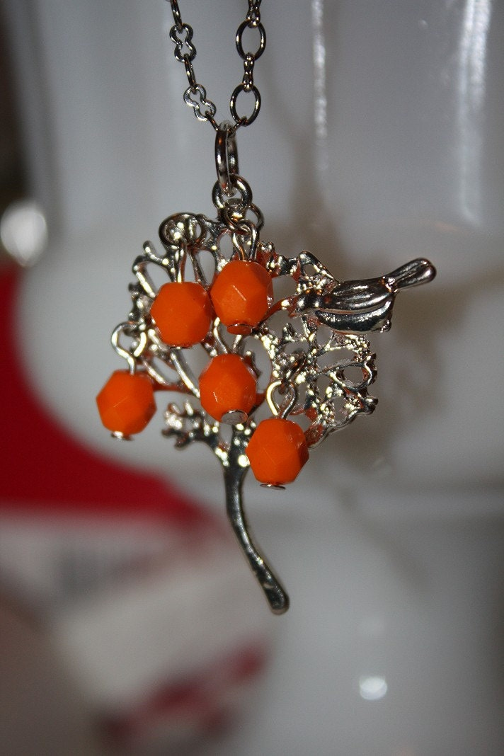 The Orange Tree Necklace