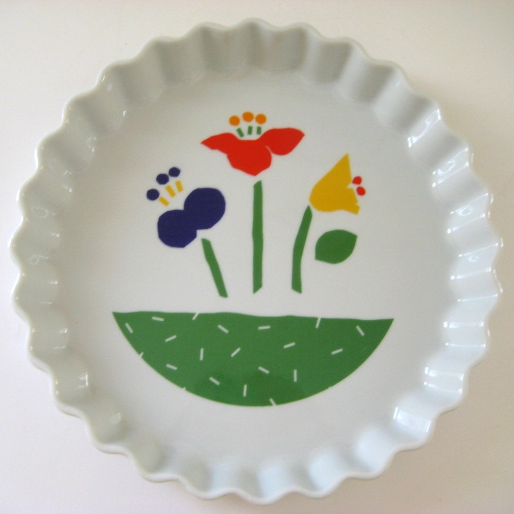 Vintage Tart or Pie Plate