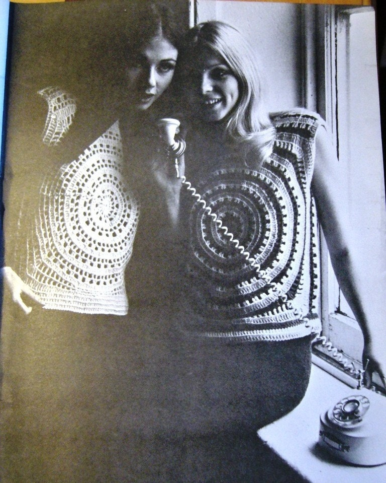 Sew Knit Crochet Vintage Patterns