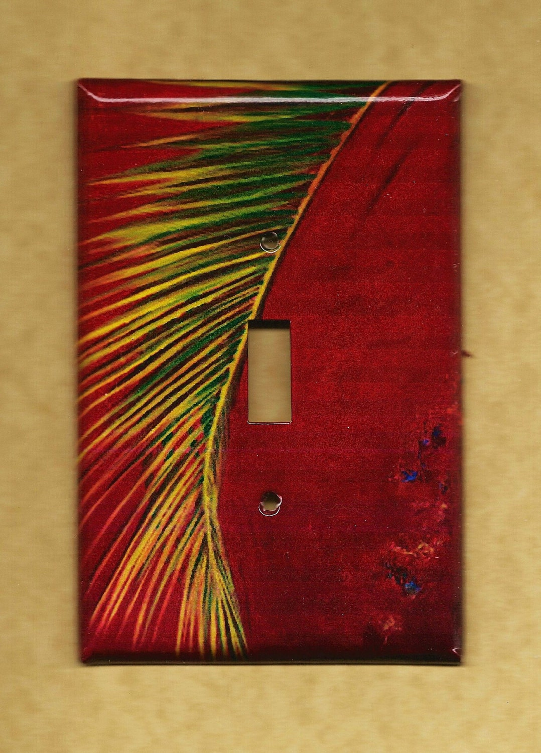 Palm Switchplate cover