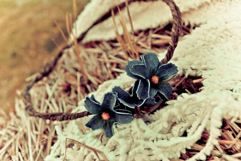 flower and twine headband