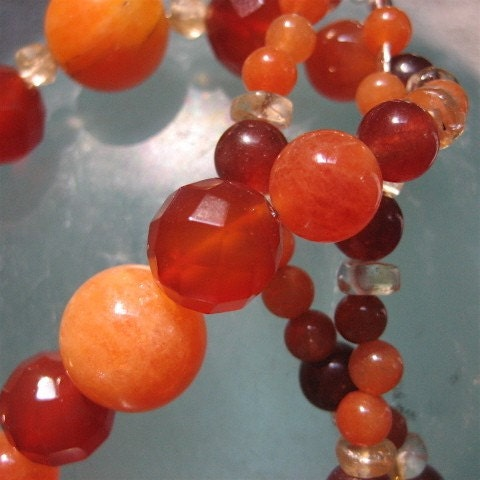 Autumnal Tones Necklace