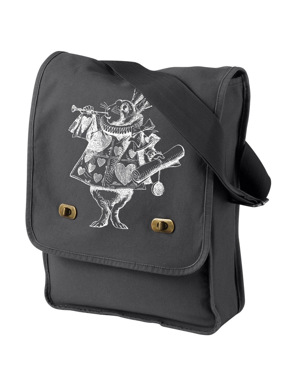 Alice in Wonderland White Rabbit Field Bag