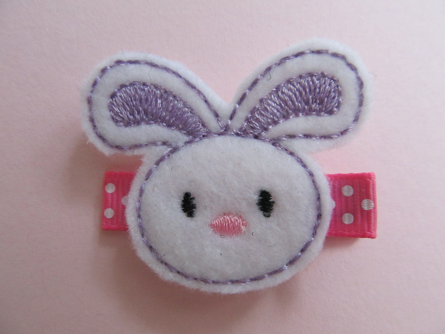 Bunny Rabbit Hairclip