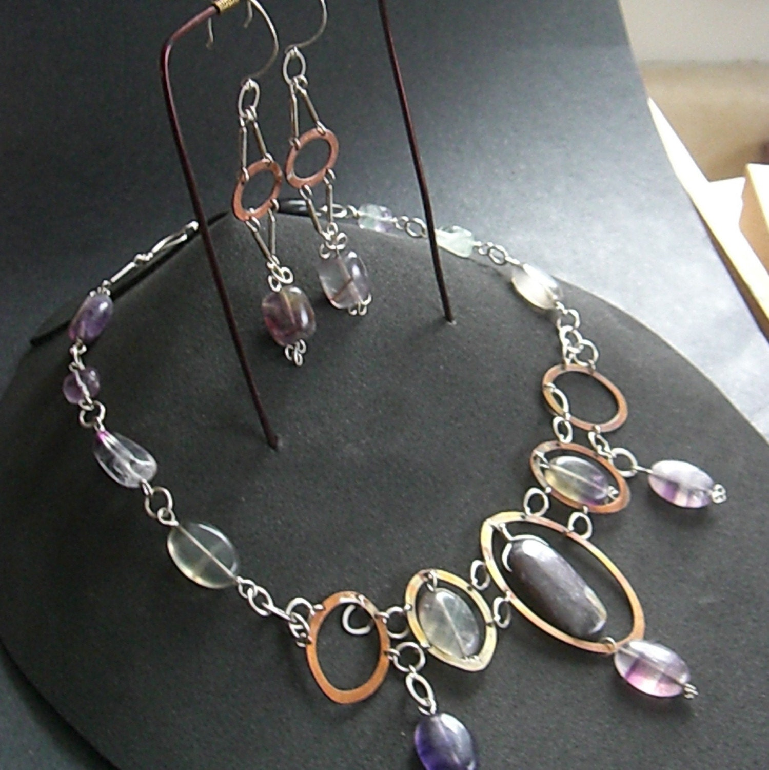 Necklace and Earring Display