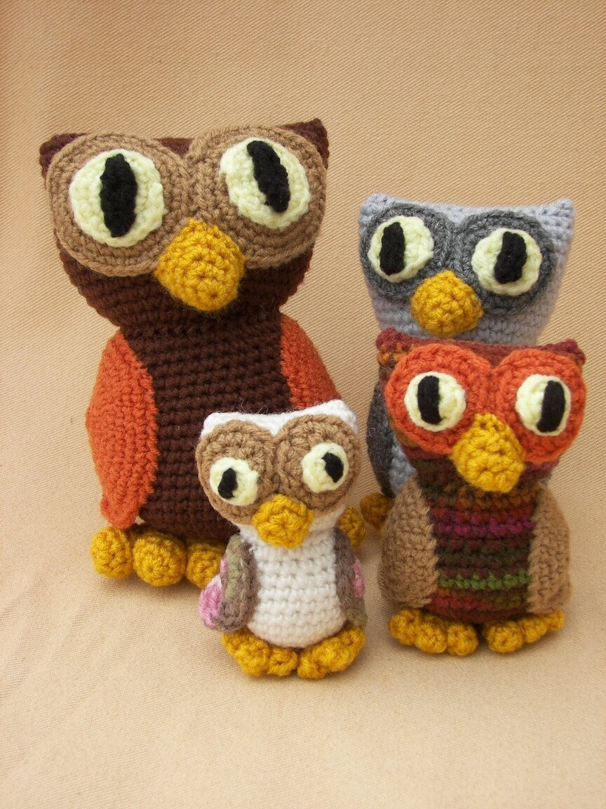 Amigurumi Owl Family : Fact Sheet