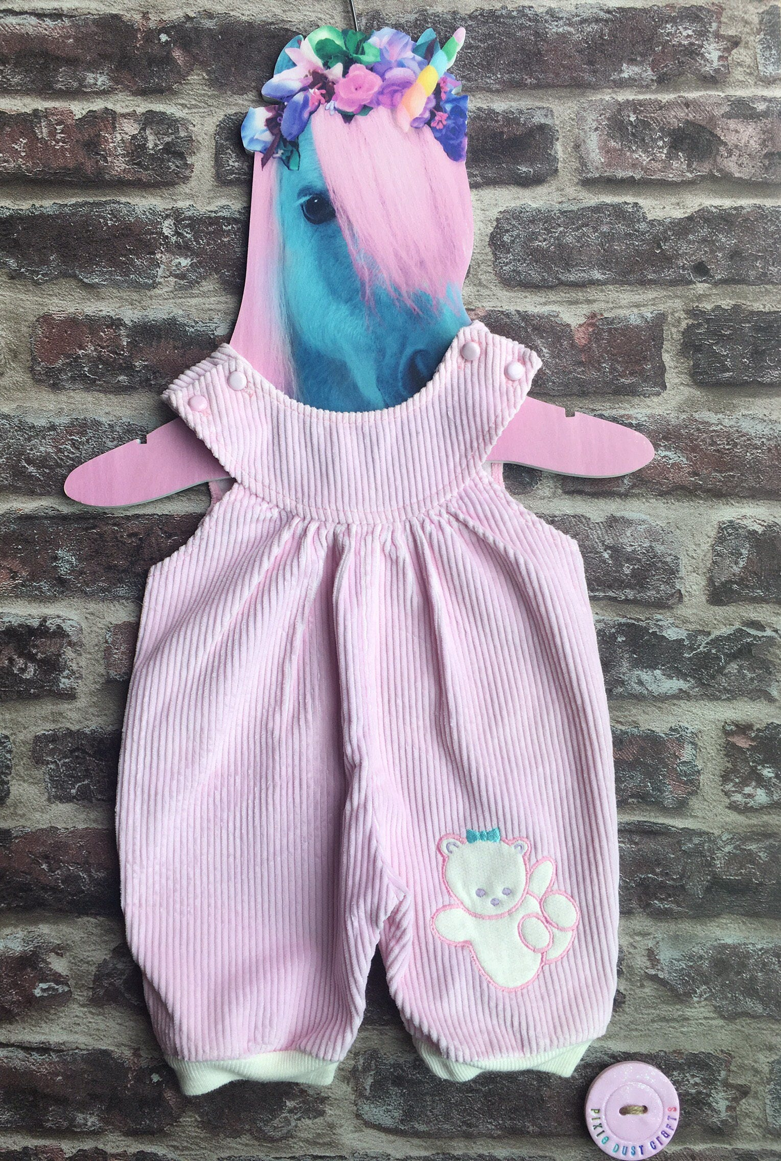 Vintage baby dungarees vintage baby cords baby pink dungarees vintage baby Debenhams girl baby shower vintae baby outfit cute baby set