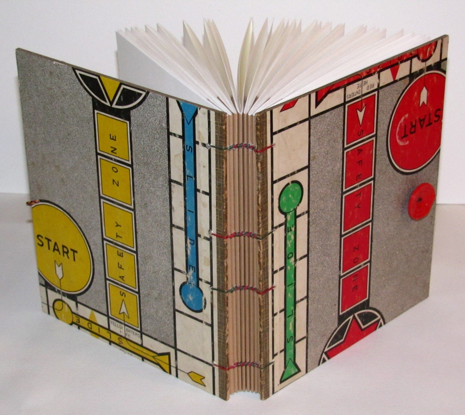 Book Cover Binding Material ~ Bookbinding etsy street team binding on a budget found materials