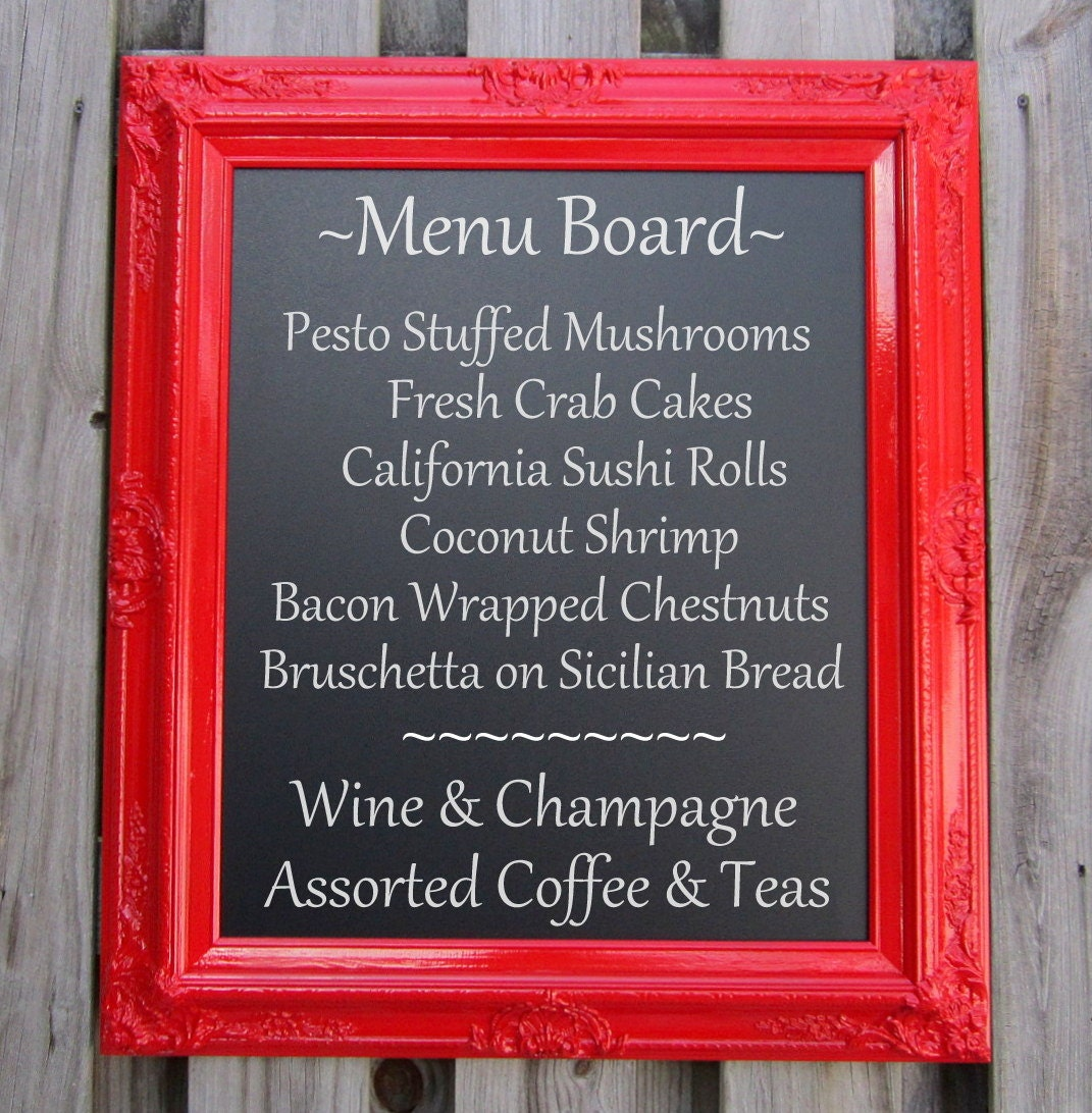 Decorative Kitchen Chalkboards Wedding Magnetic By