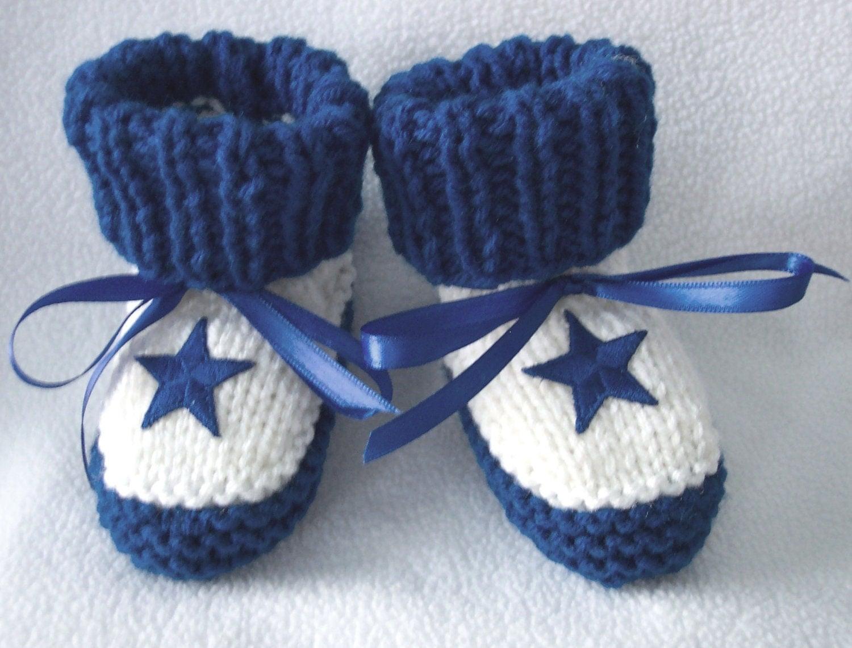 custom handmade knit nfl dallas cowboys baby by hart2hartcrafts