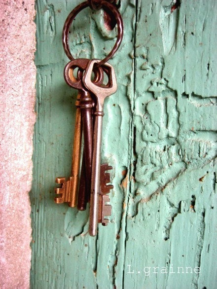 Keys to the Winery - 8x10 Fine Art  print