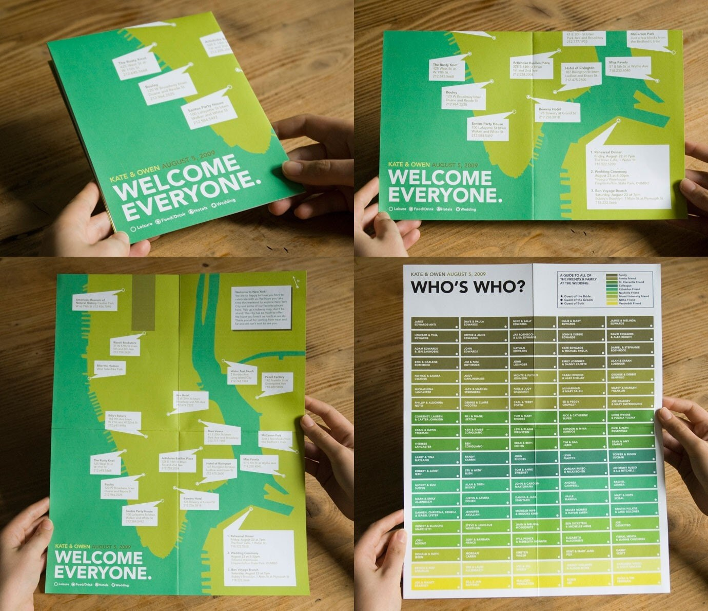 Who's Who Wedding Genealogy Chart (NEW)