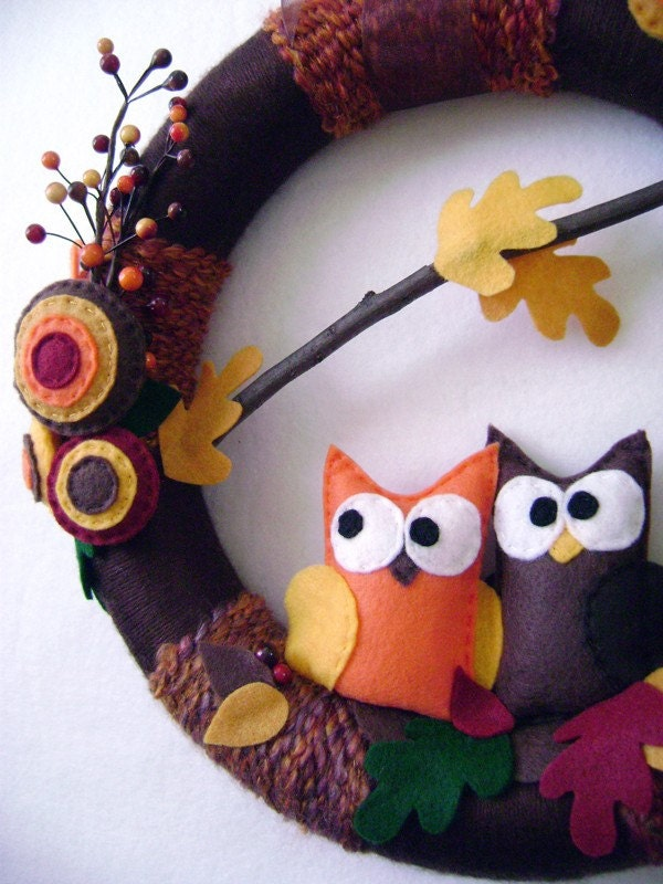 Autumn Harvest - Holiday Art Wreath