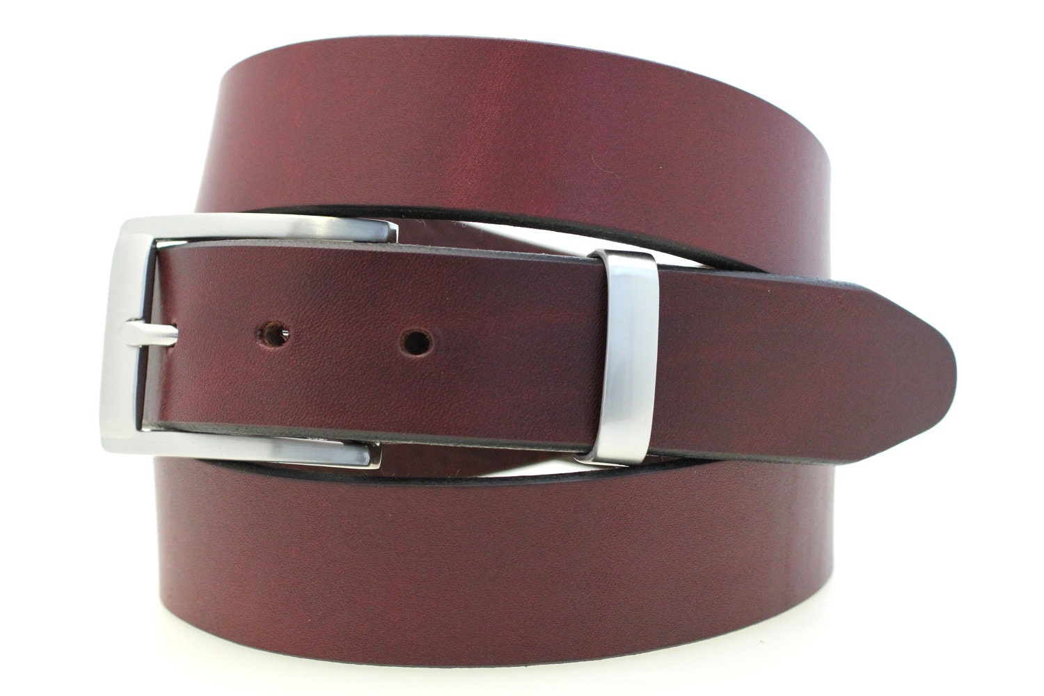 made in usa s 1 1 4 plain dress belt by