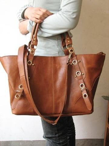 Leather Hip Bag Bag Genuine Leather