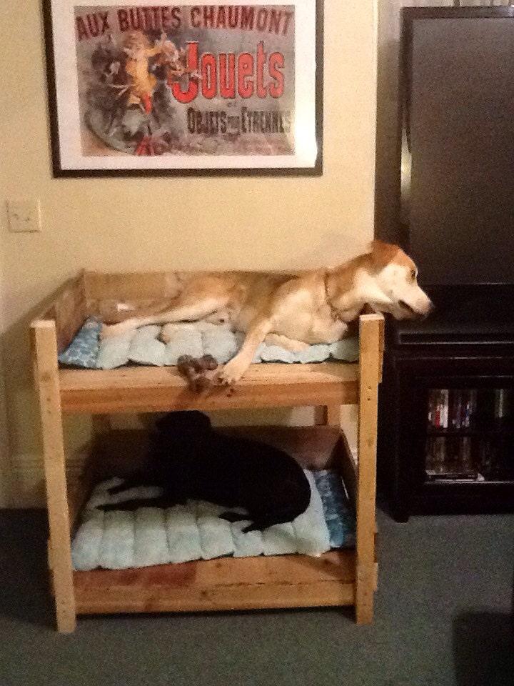 Rustic Pet Bunk Beds Extra Small