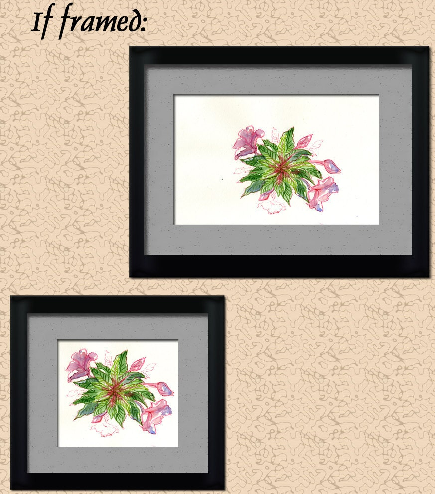 Balsam Bouquet - an original floral artwork