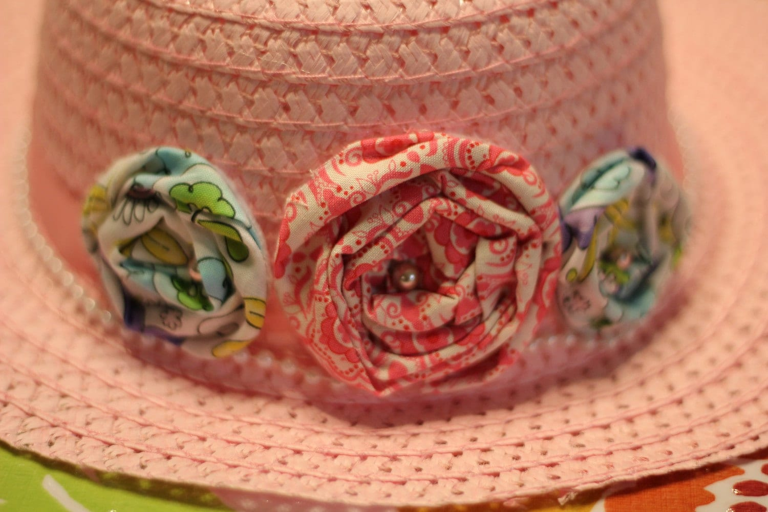 Little Girls Spring Time Hat