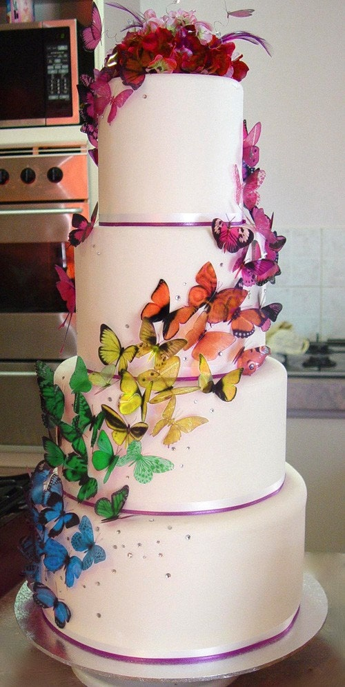 Martha Stewart Replica Wedding Cake Butterfly Packs