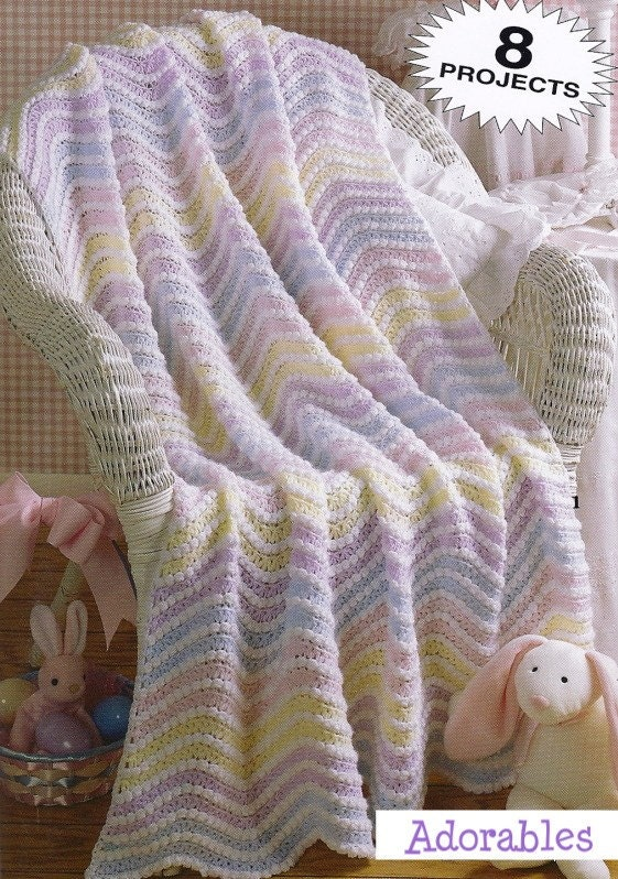 Knitting Patterns For Baby Clouds Yarn : RED HEART BABY CLOUDS AFGHAN CROCHET PATTERN