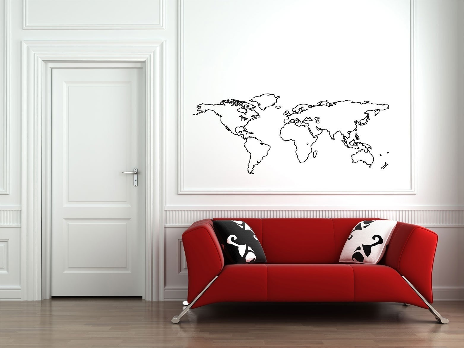 world map outline black. world map outline black.