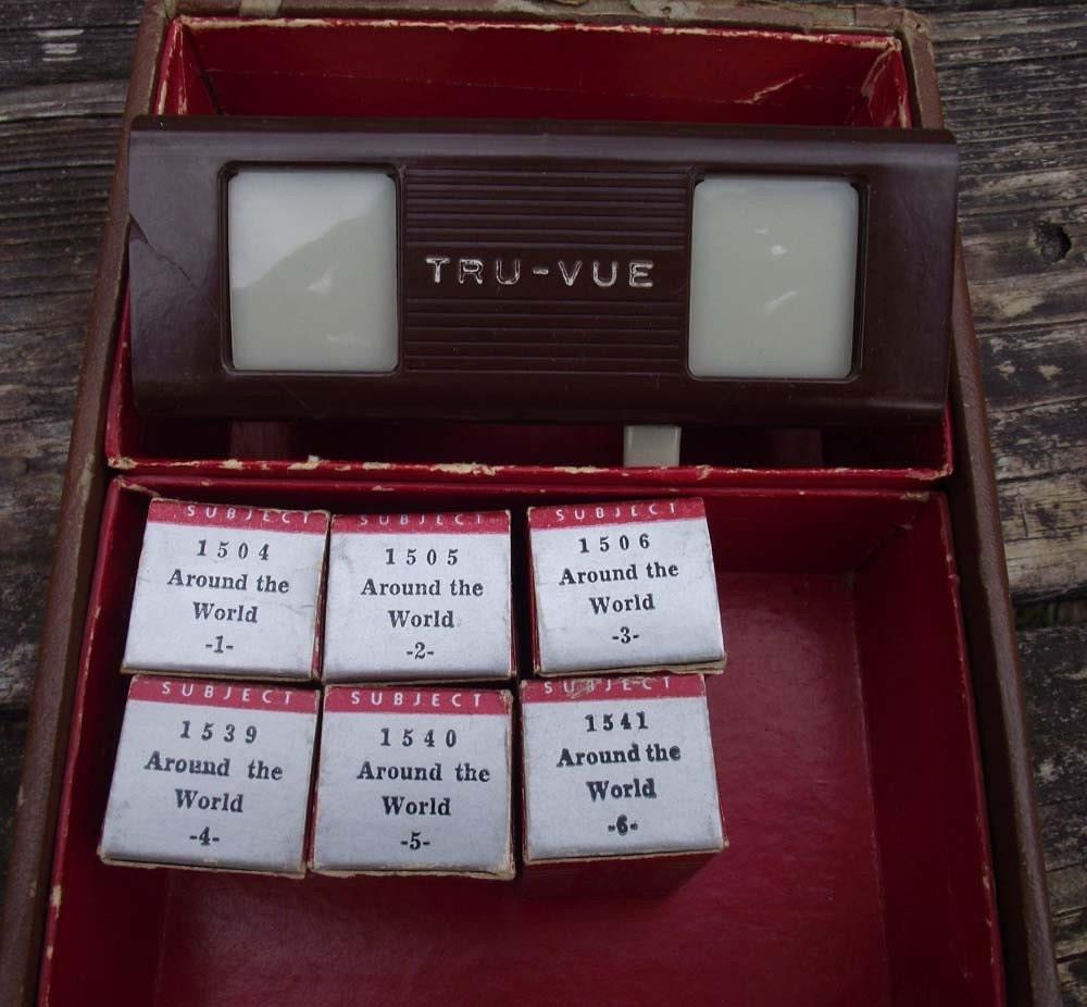Tru Vue Viewer Set with 6 Filmstrips