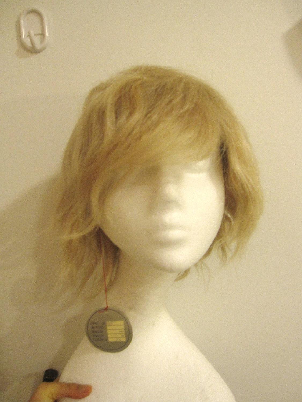 Vintage Wig Topper: Human Hair - UndergroundAquarium