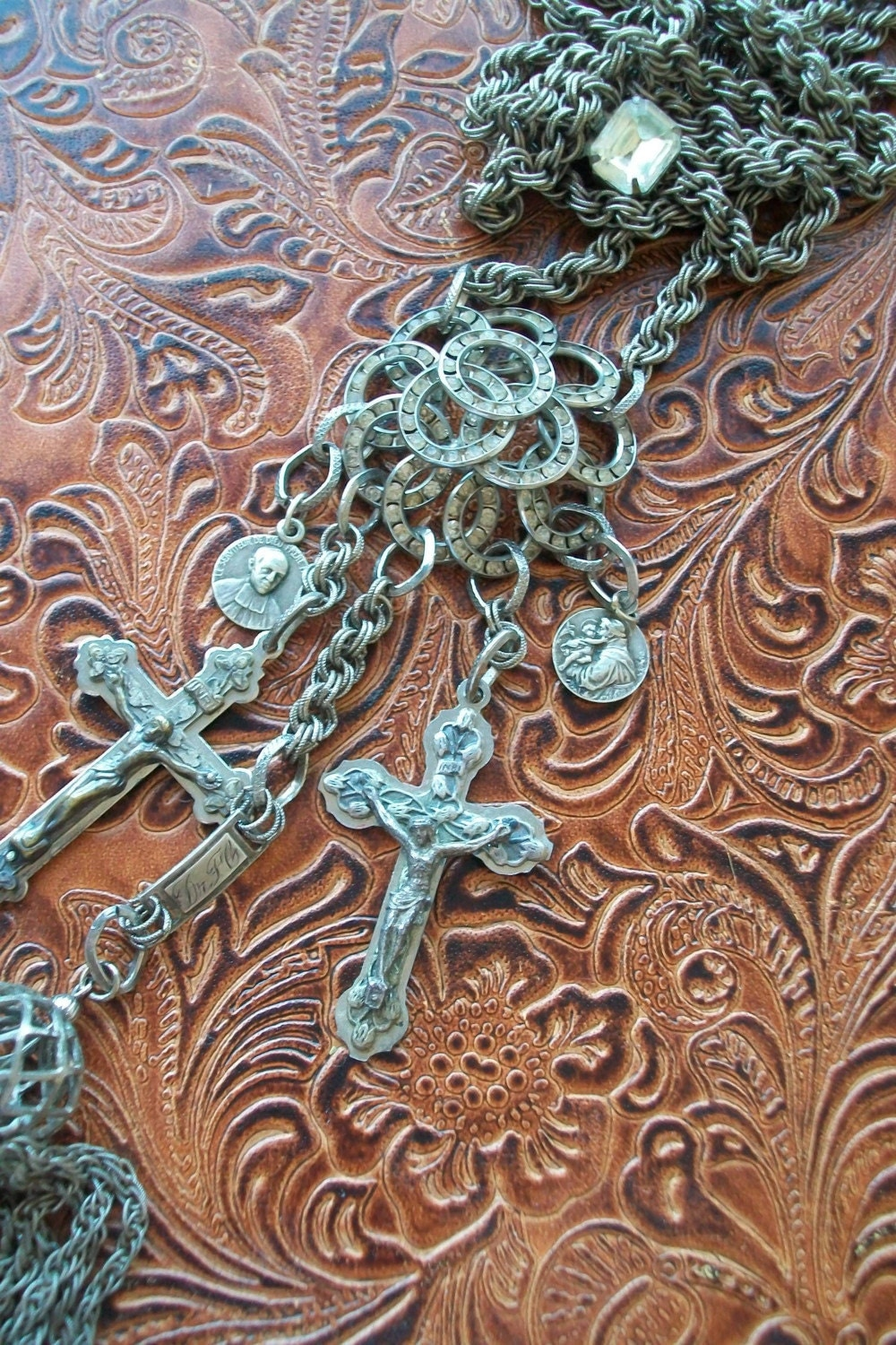 Sinner and Saint Series Religious Rosary Necklace