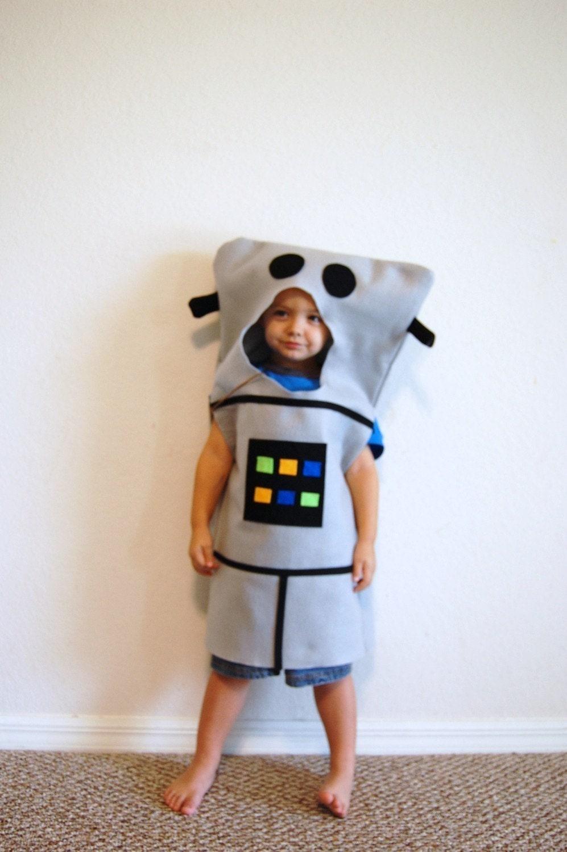 Сшить своими руками костюм робота