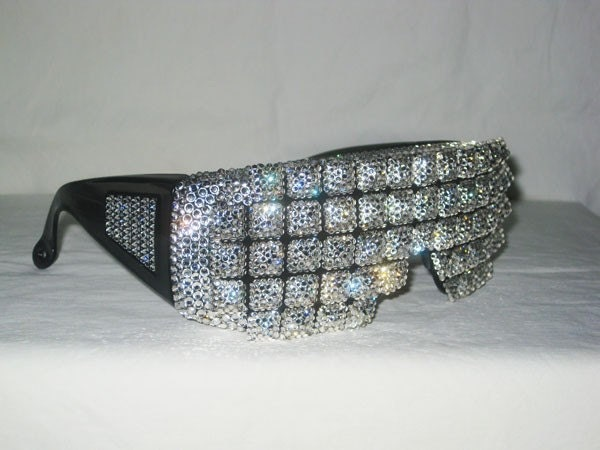 Glamarazzi - Rhinestone Covered Glasses